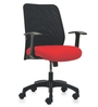 Armada High Back Offic Chair - Series C - Red by BlueBell Ergonomics