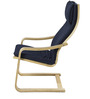 Chair in Blue Color by @home