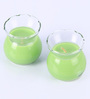 Aroma India Lemongrass Clear Pot Scented Candle - Set of 2