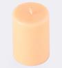 Aroma India Vanilla Scented Pillar Candle