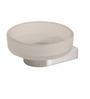 Arrow 4400 Series Metallic Zinc 3.6 x 2.7 Inch Round Soap Dish