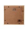 Art Ka Keeda Pine Wood 7 x 7 Inch Do More of What Makes You Happy Framed Wall Art