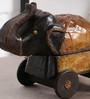 Art of Jodhpur Brown Solidwood  Showpiece