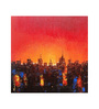 Art Zolo Canvas 18 x 18 Inch Night in City Unframed Artwork Painting