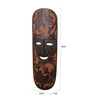 Artelier Brown Wooden Carved Mask