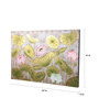 Artelier Canvas 47 x 1.5 x 41 Inch Picture of Lotus Framed Painting