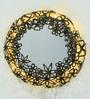 Artelier Copper Metal and Glass Spring Flower Mirror