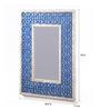 Artelier Multicolour Acrylic Oriental Mirror Frame