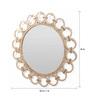 Artelier Multicolour Acrylic Round Chain Mirror Frame