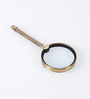 Artshai Gold Brass Big Magnifying Glass
