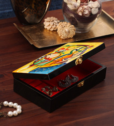 Asian Artisans Vietnamese Picasso Print Jewelry Box - 1402759