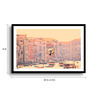 Asian Artisans MDF & Paper 22 x 2.5 x 16 Inch Evening Flight Framed Digital Art Print
