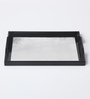 Asian Artisans Vietnamese Silver Wood & Lacquer Coating Tray