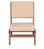 Santa Fe Accent Chair in Provincial Teak Finish by Woodsworth