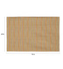 Asterlane Gold Woolen 96 x 60 Inch Abstract Rectangular Area Rug
