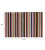 Asterlane Multicolour Woolen 96 x 60 Inch Stripes Rectangular Area Rug
