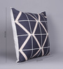 At Home Multicolour Cotton 20 x 20 Inch Geometric Pattern Cushion Cover