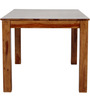Maritsa Six Seater Dining Table in Provincial Teak Finish by Woodsworth