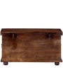 Avagraha Handcrafted Trunk in Provincial Teak Finish by Mudramark