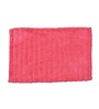 Avira Home Pink & Black Cotton 24 x 16 Inch Mat Set