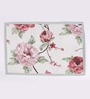 Avira Home Pink Cotton Floral Table Mat - Set of 4