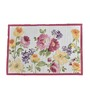 Avira Home Rose Garden Multicolour Cotton & Polyester Table Runner & Placemats - Set of 7