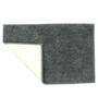 Azaani Grey Cotton Bath Mat - Set of 4