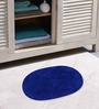 Azaani Micro Gray & Blue 2-piece Bathmat Set