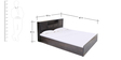 Bali Super Storage Queen Bed by HomeTown