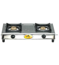 Bajaj Popular-E 2 Burner Gas Stove
