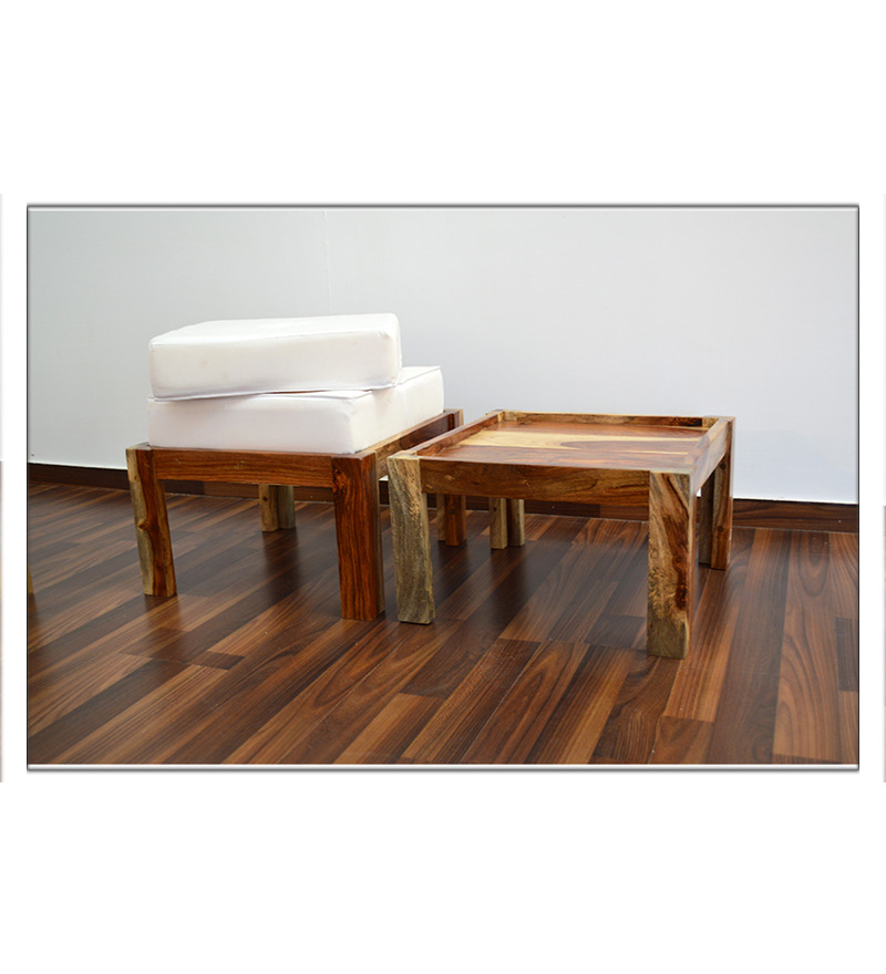 Stockholm Compact Coffee Table With 4 Stools By Mudra