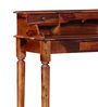 Banbury Study & Laptop Table in Honey Oak Finish by Amberville