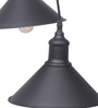 Bandra Flea Market Black Steel Midnight Conical Pendant