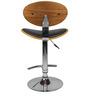 Bar Chair in Walnut Colour by Ventura