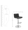 Bar Chair in Black Colour by The Furniture Store