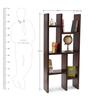 Barcelona Bookshelf in Provincial Teak Finish by The ArmChair