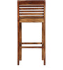 Woodinville Bar Chair in Provincial Teak Finish by Woodsworth