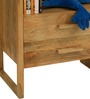 Barcelona Solid Wood Entertainment Unit in Natural Finish by TheArmchair