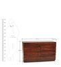 Bari Chest Of Drawers in Mahogany Finish by The ArmChair