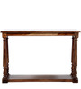 Moray Console Table in Provincial Teak Finish by Amberville