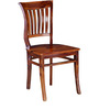 Gilmore Dining Chair In Honey Oak Finish by Amberville