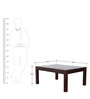 Mindoro Coffee Table in Provincial Teak Finish by Woodsworth