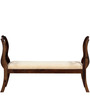 Mansfield Bench in Provincial Teak Finish by Amberville