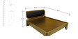 Beetle Bed Queen Size Bed by Evok
