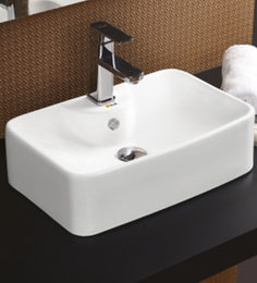 Bell White Ceramic Basin (Model: 8013)