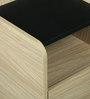 Bedside Table in Sahara Walnut Finish by Arancia Mobel