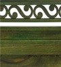 Bench with Arms in Platina Olive Colour by Furnicheer