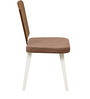 Benny Dining Chair in White Colour by @home