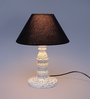Bismarck Table Lamp in Black by Amberville