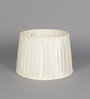 Beverly Studio White Poly Cotton Lamp Shade